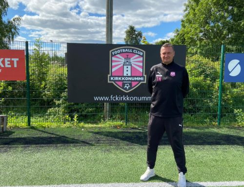 Tatu Nevalasta FC Kirkkonummen valmennuspäällikkö