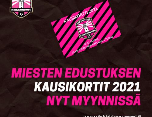 KAUSIKORTIT KAUDELLE 2021 NYT MYYNNISSÄ