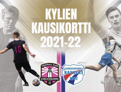 KIRKKONUMMI RANGERS & FC KIRKKONUMMI YHTEISKAUSARI NYT MYYNNISSÄ